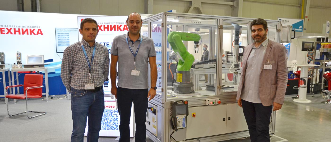 Изцяло нова концепция за хидроагрегат CytroBox на Bosch Rexroth бе основен акцент на щанда на БР Техника по време на MachTech 2021