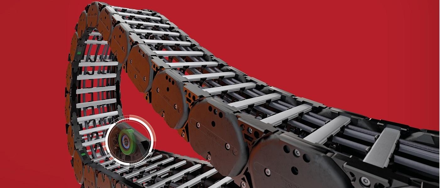 """Атлас Техник представя """"специалиста за големи разстояния"""" – новата серия кабеловодещи вериги TKHD90-R на Kabelschlepp"""