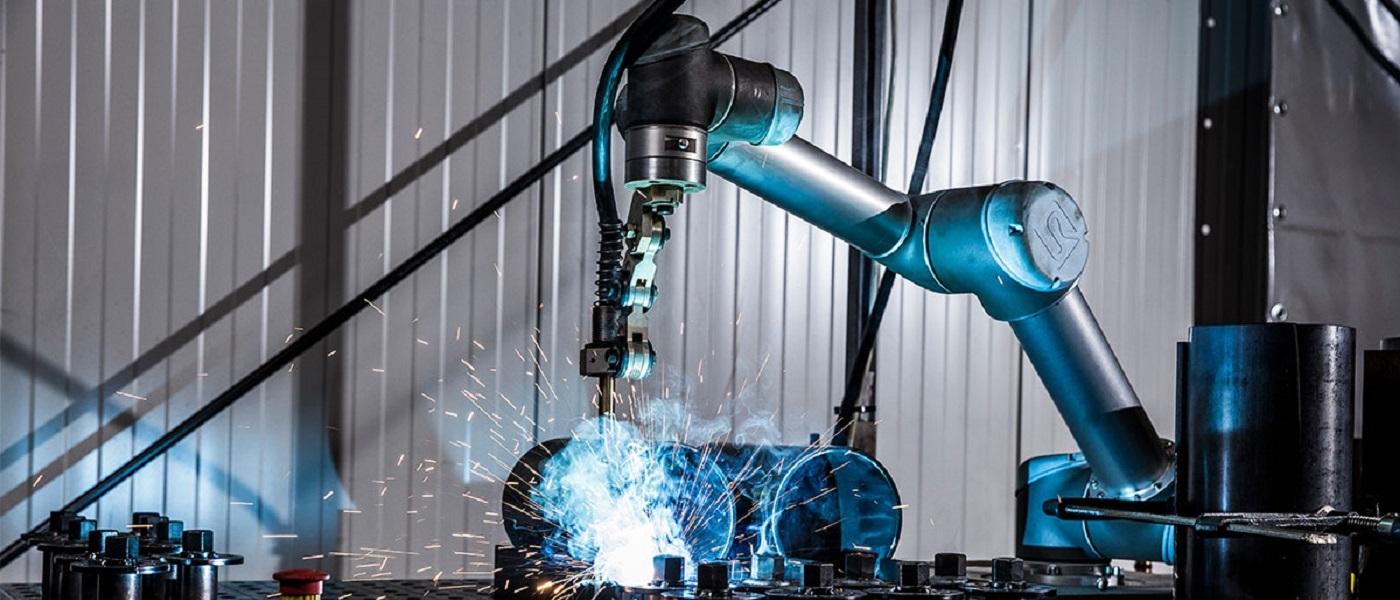 Гъвкавост и високо качество с новия роботизиран помощник в заваряването CoWelder на Migatronic! От Маунт прес
