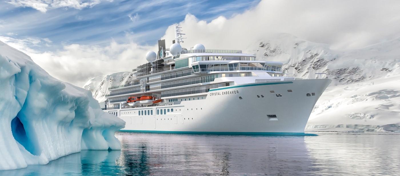 Юроком 2000: Луксозният лайнер Crystal Endeavour снабдява надеждно с вода своите пътници с тръбна прес система Viega Raxofix